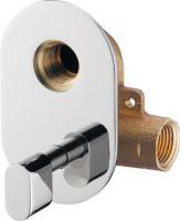 Sapho JUSTIME podomítkový směšovací ventil pro bidetové sprchy, chrom