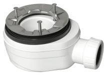 Polysan Vaničkový sifon, průměr otvoru 90 mm, DN40, nízký, pro FLEXIA,VARESA,LUSSA,ARENA