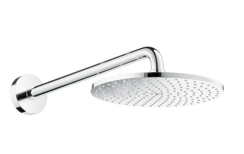 Hansgrohe Raindance S Hlavová sprcha PowderRain 240, se sprchovým ramenem 390 mm, chrom