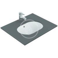 Ideal Standard Connect Umyvadlo pod desku, 480x350 mm, s přepadem, bílá