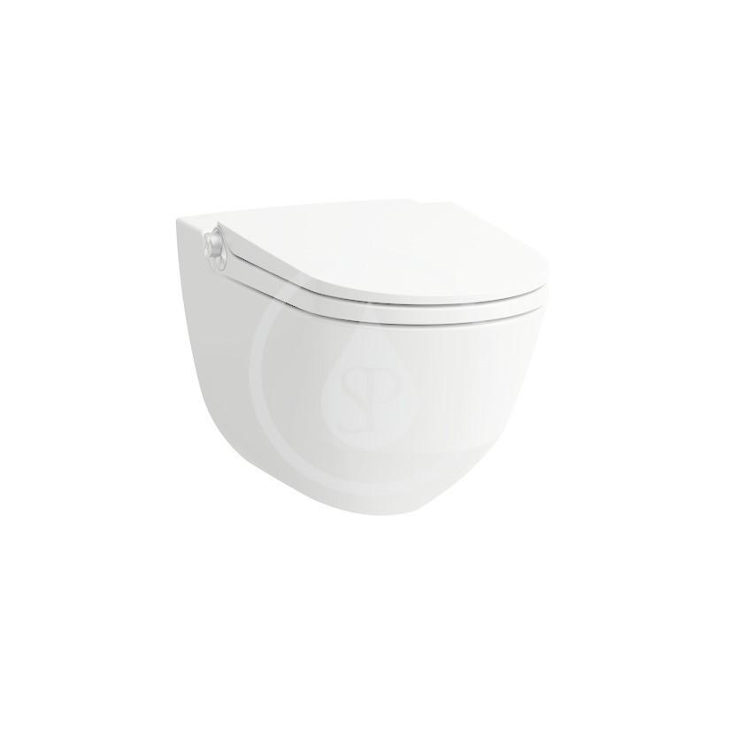 Laufen Cleanet Riva Elektronický bidet s keramikou, Rimless, s LCC, bílá