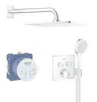 Grohe Grohtherm SmartControl Sprchový set Perfect s podomítkovým termostatem, 254 mm, chrom