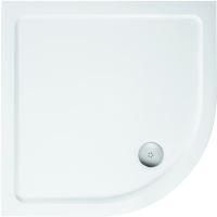 Ideal Standard Simplicity Stone Sprchová vanička litý mramor 1010 x 1010 mm, bílá