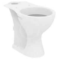 Ideal Standard Contour 21 WC kombi mísa, bezbariérová, 360x450x660 mm, zadní odpad, bílá