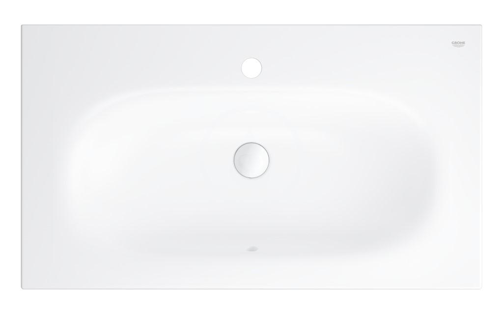 Grohe Essence Umyvadlo s přepadem 800x460 mm, PureGuard, alpská bílá