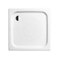 Kaldewei Ambiente Čtvercová sprchová vanička Duschplan 545-1, 900 x 900 mm, antislip, Perl-Effekt, bez polystyrénového nosiče, bílá