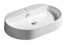 Kerasan RING keramické umyvadlo 65x12x40cm, na desku
