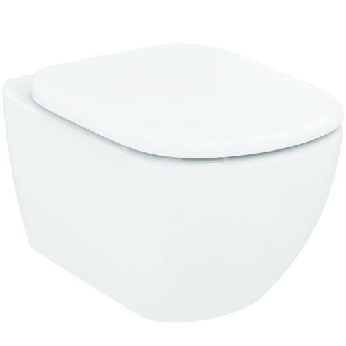 Ideal Standard Tesi Závěsné WC 360x530x337 mm, s technologií Aquablade, bílá