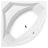 Polysan ROSANA rohová vana 140x140x49cm, bílá