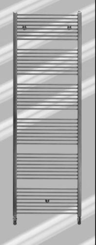 Runtal Fain Inox s vnějším připojením (nerezová ocel) - 150x50 cm