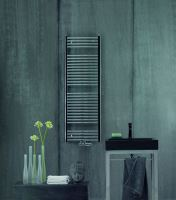Zehnder Aura 1226 x 500 mm, elektrická, rovná, chrom
