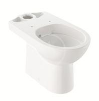 Geberit Selnova WC kombi mísa, zadní odpad, 680x360 mm, Rimfree, bílá
