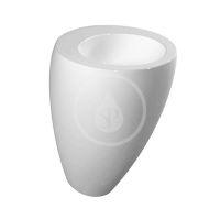 Laufen Il Bagno Alessi One Umyvadlo s integrovaným sloupem, 520x530x850 mm, s LCC, bílá