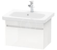 Duravit DuraStyle Umyvadlová skříňka 398x580x368 mm, 1 zásuvka, lesklá bílá