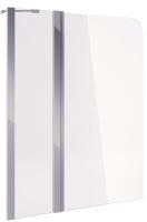 Vanová zástěna 900 dvoudílná (30+70)x145 L/P, chrom, sklo čiré Cleancontrol