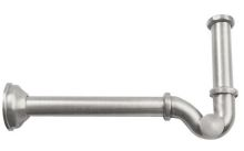 Bidetový sifon 1'1/4, odpad 32mm, nikl