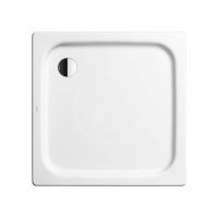 Kaldewei Ambiente Čtvercová sprchová vanička Duschplan 545-1, 900x900 mm, bez polystyrénového nosiče, bílá