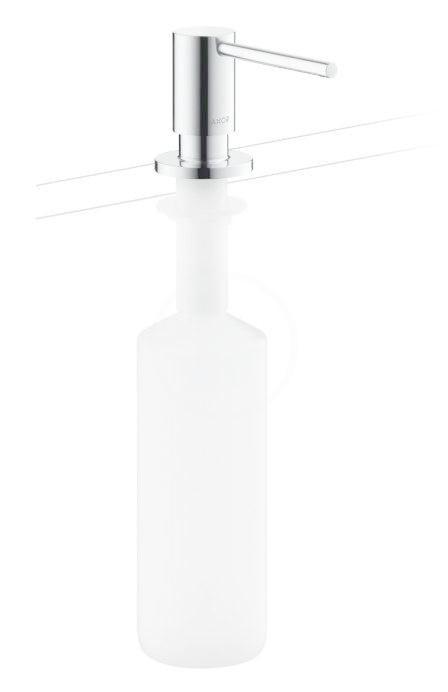 Axor Uno Dávkovač saponátu, 500 ml, vzhled nerezu