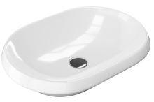 Zápustné umyvadlo LUPIO 60 60x40x17 cm bílé