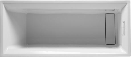 Duravit 2nd floor vana 1700x700mm bílá