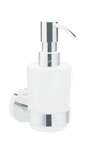 Hansgrohe Logis Universal Dávkovač tekutého mýdla, sklo/chrom