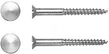 Duravit Duraplus Upevnění, průměr 6 mm, chrom