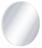 Zrcadlo Virro kulaté bílé 80 cm