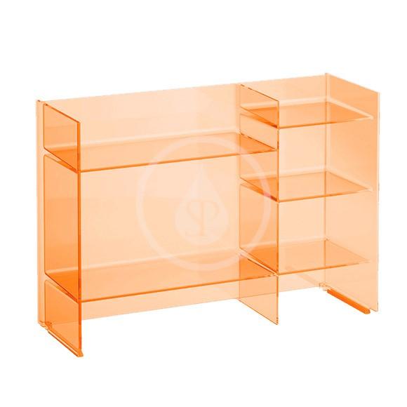 Laufen Kartell Policový regál, 750x260x530 mm, oranžová