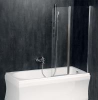 Polysan PALOMA vanová zástěna 1200mm, čiré sklo