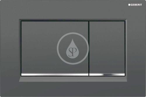 Geberit Sigma30 Ovládací tlačítko Sigma30, černá/chrom