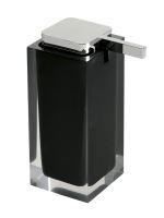Gedy RAINBOW dávkovač mýdla na postavení, černá