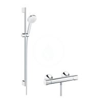 Hansgrohe Ecostat Universal Sprchový set Vario s termostatem Ecostat Universal, bílá/chrom