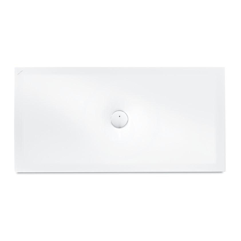 Laufen Indura Sprchová vanička s protihlukovými podložkami, 1400x700 mm, antislip, bílá