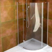Gelco LEGRO čtvrtkruhová sprchová zástěna jednokřídlá, čiré sklo