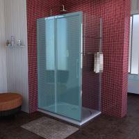 Polysan LUCIS LINE sprchová boční stěna 1000mm, čiré sklo