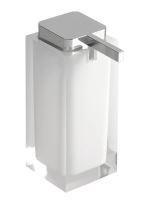 Gedy RAINBOW dávkovač mýdla na postavení, bílá