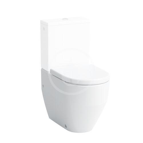 Laufen Pro Stojící WC kombi mísa, 650x360 mm, zadní/spodní odpad, bílá