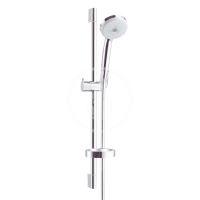 Hansgrohe Croma 100 Set sprchové hlavice Multi 3jet, tyče a hadice, chrom