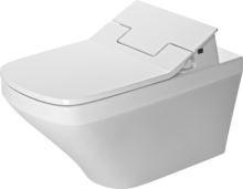 Duravit DuraStyle závěsné WC 620mm Rimless, bílá WonderGliss