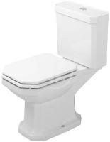 Duravit 1930 Stojící WC kombi mísa, svislý odpad, WonderGliss, bílá