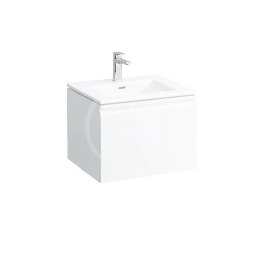 Laufen Pro S Skříňka s umyvadlem, 600x500 mm, barva bílá lesk