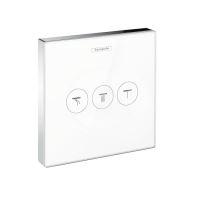 Hansgrohe Shower Select Podomítkový ventil pro 3 spotřebiče, bílá/chrom