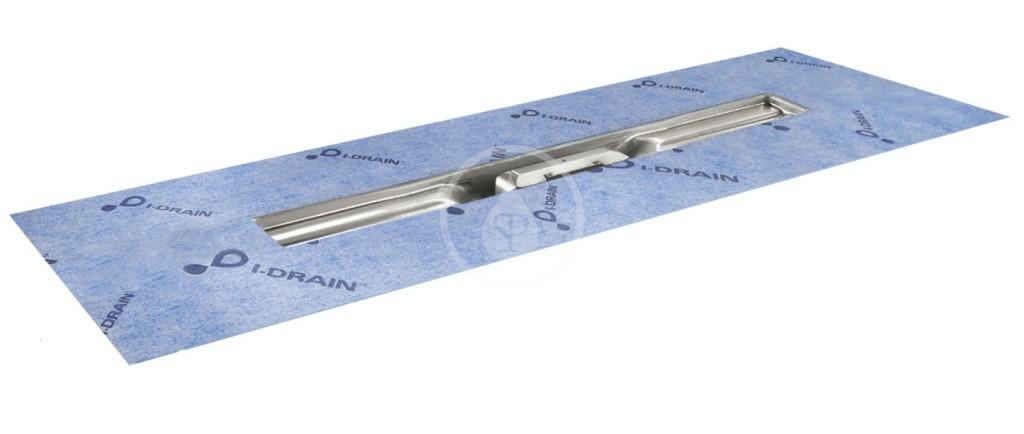 I-Drain Linear 54 Nerezový sprchový žlab, délka 1100 mm, s hydroizolací