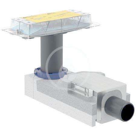 Geberit CleanLine Souprava pro hrubou montáž sprchového kanálku, pro podlahy 90-200 mm, odpad 50 mm