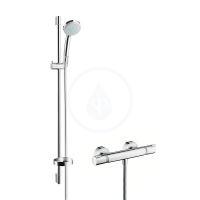 Hansgrohe Ecostat Comfort Combi 0,90 m s ruční sprchou Croma 100 Vario, chrom