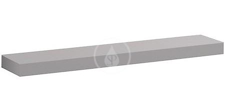 Geberit iCon Polička, délka 900 mm, platinová lesklá