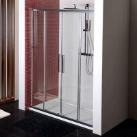 Polysan LUCIS LINE sprchové dveře čtyřdílné, čiré sklo