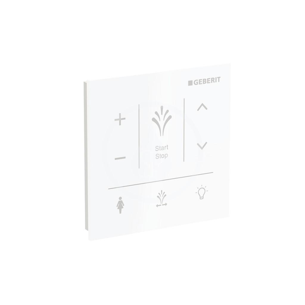 Geberit AquaClean Ovládací panel pro elektronický bidet Sela, bílá