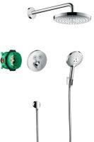 Hansgrohe Raindance Select E Designová sprchová souprava ShowerSelect, chrom
