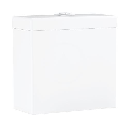Grohe Cube Ceramic Splachovací nádrž, 370x170 mm, spodní napouštění, alpská bílá